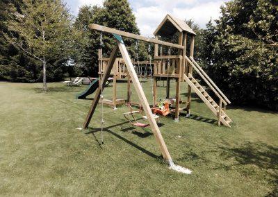 jeux de plein air en bois autoclave